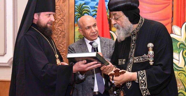 قداسة البابا يستقبل وفد رهباني روسي