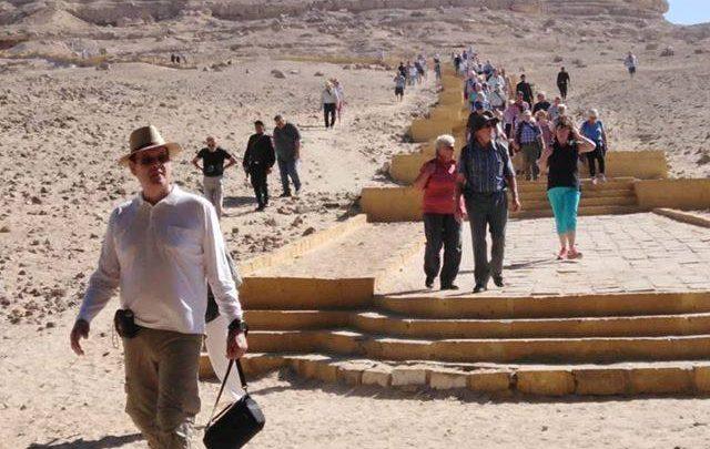 السياح بمحافظة المنيا
