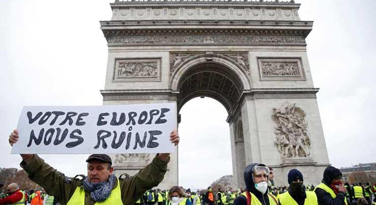 الاحتجاجات بفرنسا